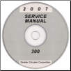 2007 Chrysler and Dodge 300, Charger, Magnum and SRT8 (LX) Service Manual on CD *XML & SVG* (SKU: 8127007065CD)
