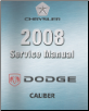 2008 Caliber (PM) Service Manual - 4 Volume Set (SKU: 8127008066)