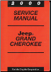2000 Jeep Grand Cherokee Service Manual (SKU: 813700047)