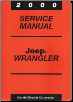 2000 Jeep Wrangler Service Manual (SKU: 813700048)