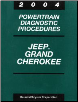 2004 Jeep Grand Cherokee Powertrain Diagnostic Procedures Factory Manual (SKU: 8137004047)
