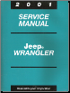 2001 Jeep Wrangler Service Manual (SKU: 813701048)