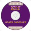 1996 Jeep Grand Cherokee (ZJ) Service Manual on CD (SKU: 813706147CD)