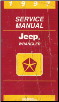 1997 Jeep Wrangler (TJ) Service Manual (SKU: 813707148)