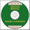 1998 Jeep Grand Cherokee (ZJ) Factory Service Manual on CD (SKU: 813708147CD)
