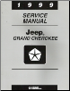 1999 Jeep Grand Cherokee Service Manual (SKU: 813709147)