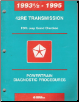 1993 - 1995 Chrysler 42RE Transmission Powertrain Diagnostic Procedures Manual - Softcover (SKU: 8169994019)