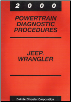 2000 Jeep Wrangler Powertrain Diagnostic Procedures (SKU: 8169999029)