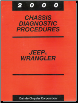 2000 Jeep Wrangler Chassis Diagnostic Procedures (SKU: 8169999031)