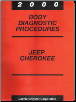 2000 Jeep Cherokee Body Diagnostic Procedures (SKU: 8169999033)