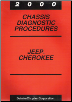 2000 Jeep Cherokee Chassis Diagnostic Procedures (SKU: 8169999034)