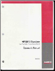 Case AFX8010 Combine Factory Operator's Manual (SKU: 87052355)