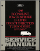 1995 Ford Econoline Power Stroke 7.3L Direct Injection Turbo Diesel Supplement Service Manual (SKU: FCS1225995)