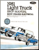 1981 Ford Light Truck: Bronco, Econoline, F100, F250, F350 Factory Shop Manual CD-ROM (SKU: BISH-12041)