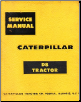 1959 Caterpillar D8 Tractor Factory Service Manual (SKU: CATD81959)