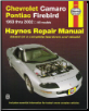 1993-2002 Chevrolet Camaro & Pontiac Firebird, Haynes Repair Manual (SKU: 1563925567)