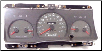 1998 - 2002 Ford Crown Victoria Instrument Cluster Repair (120 MPH) (SKU: F8AF17282EA)