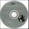2000 Ford Car Factory Workshop Information - CD-ROM (SKU: FCS1255100C18)