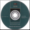 1998 Ford Windstar Factory Service Manual on CD-ROM (SKU: FCS1277598)
