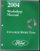2004 Ford Explorer Sport Trac Workshop Manual (SKU: FCS1296404)