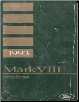 1993 Lincoln Mark VIII Service Manual (SKU: FPS1219293)