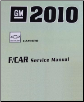 2010 Chevrolet Camaro Factory Service Repair Workshop Manual, 3 Vol. Set (SKU: GMP10F)