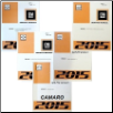 2015 Chevrolet Camaro Factory Service Repair Workshop Manual, 5 Vol. Set (SKU: GMP15F)