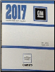 2017 Chevrolet Camaro Factory Service Repair Workshop Shop Manual 6-Vol. Set (SKU: GMP17F)