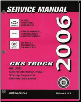 2006 Chevrolet & GMC Tahoe, Surburban, Avalanche, Yukon, XL, Denali, XL, &  Cadillac Escalade  Factory Service Manual - 3 Volume Set (SKU: GMT06CKUV1-2-3)
