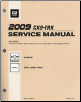 2009 Chevrolet Silverado, GMC Sierra / Sierra Denali Factory Service Manual - 7 Vol. Set (SKU: GMT09CK9PU1-7)