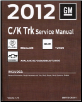 2012 Cadillac Escalade, Chevrolet Avalanche, Suburban, Tahoe & GMC Yukon, Denali Factory Service Manual- 5 Vol. Set (SKU: GMT12CKUV1-5)