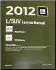 2012 Chevrolet Equinox & GMC Terrain Factory Service Manual (SKU: GMT12LSUV)