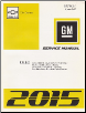 2015 Chevrolet City Express Factory Service Manual (SKU: GMT15CE)