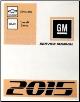 2015 Chevrolet Silverado, GMC Sierra & Sierra Denali Service Repair Workshop Manual- 8 Vol. Set (SKU: GMT15CKPU)