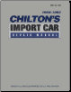 1988 - 1992 Chilton's Import Auto Repair Manual (SKU: 0801979072)