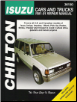 1981 - 1991 Isuzu Cars & Trucks Chilton's Total Car Care Manual (SKU: 0801980690)