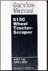 Caterpillar 615C Wheel Tractor - Scraper Factory Service Manual Serial Numbers 5TF1-Up & 2XG1-897 (SKU: SENR3840)