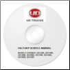 1999 - 2004 UD UD1200 thru UD3300 Truck Factory Service Repair Manual on CD-ROM (SKU: SMCD992004V)