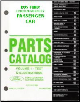 1995 Complete Parts Catalog for Ford, Lincoln and Mercury Passenger Cars (Multiple Volumes) (SKU: FCS775395)