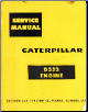 Caterpillar D353 Diesel Engine Service Manual (SKU: CAT-D353)