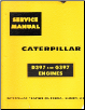 Caterpillar D397 & G397 Diesel Engine Service Manual (SKU: CAT-D397-G397)