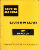 Caterpillar D9 Tractor Factory Service Repair Manual (SKU: CATD9)