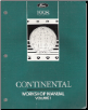 1998 Lincoln Continental Factory Workshop Manual - 2 Volume Set (SKU: FCS12169981-2)
