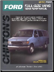 1989 - 1996 Ford Econoline Vans (E-Series) Chilton's Total Car Care Manual (SKU: 0801988489)