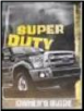 2014 Ford F250, F350, F450 & F550 Truck Factory Owner's Manual (SKU: EC3J19A32AA)