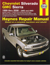 1999 - 2006 Chevrolet Silverado & GMC Sierra Haynes Repair Manual