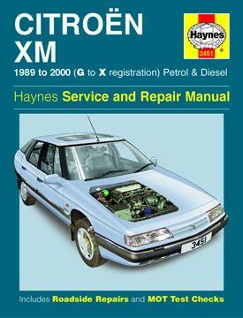 1989 2000 citroen xm petrol and diesel haynes repair manual rh autorepairmanuals biz