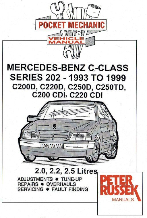 1993 1999 mercedes benz c class w202 series c200d for Mercedes benz tune up cost