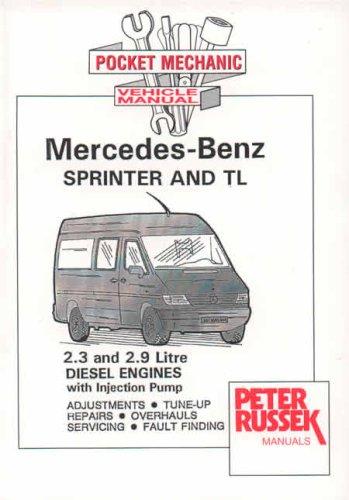 1995 2000 mercedes benz sprinter and tl 2 3l 2 9l diesel rh autorepairmanuals biz mercedes-benz sprinter diesel (95 - apr 06) haynes repair manual mercedes benz sprinter service manual