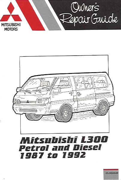 1907779891 1992 mitsubishi l300 petrol & diesel, russek repair manual mitsubishi l300 wiring system diagram at edmiracle.co